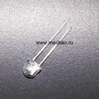 Светодиод красный 5 мм. 10 шт.