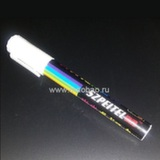 Флуоресцентный маркер белый 4 мм.