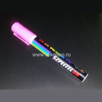 Флуоресцентный маркер розовый 4 мм.