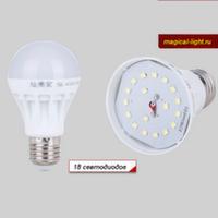 Светодиодная лампочка 5W/E27